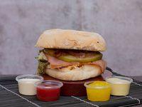 3 Hamburguesas Sencillas Gourmet 30% Descuento
