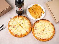Promo 5 - 2 pizzetas con muzzarella + 2 fainá + Pepsi 2 L
