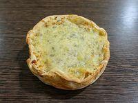 Tarta individual brocoli y muzzarella