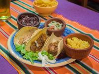 Tacos de carne con tortillas de maíz (3 unidades)
