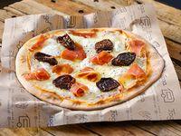 Pizzeta muzzarella premium con tres gustos