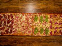 Promo - 4 sabores en 1 metro de pizza