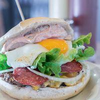 Fuente Talquina burger