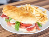 Sándwich de Rúcula