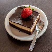 Cheesecake de chocolate (dos personas)