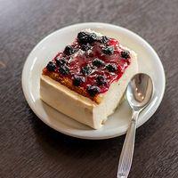 Cheesecake de frutos rojos (dos personas)
