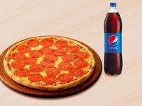 Pizza Original de la Casa Grande + Bebida