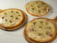 Promo - 3 pizzas muzzarella
