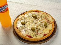 Promo - Pizza muzzarella chica + bebida 250 ml