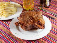 Pollo a las brasas + Bebida 1.5 L