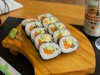 Futomaki veggie (10 piezas)
