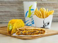 4. Dobladilla  + crunchy taco