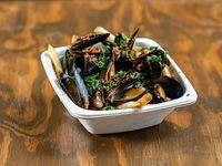 Mussels lemongrass
