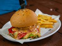 Ancon red burger