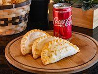 Promo 1 - 3 Empanadas + Faina Stick + bebida a elección