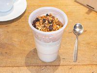 Yoghurt de leche coco granola