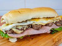 Sándwich de lomito de lomo completo