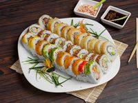 Promo 30 Bocados de Sushi + 2 Bebidas 12 oz