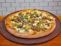 Pizza gourmet funghi grande