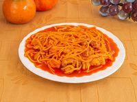 Espaguetis Especial