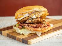 Hamburguesa chuleta pollo