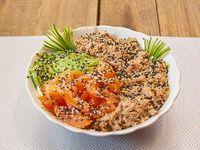 Ensalada salmón tuna mix