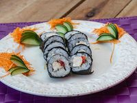 Maki chicken tomato roll (10 unidades)