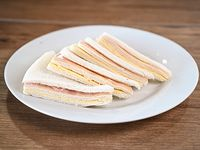 Sándwich de jamón y queso (100 unidades)