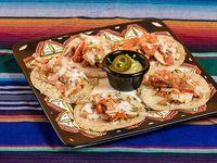 Tacos con pastor (3 unidades)