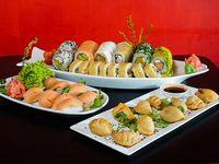 Tabla sushi - 80 piezas