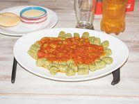 Combo - Ñoquis de verduras + salsa
