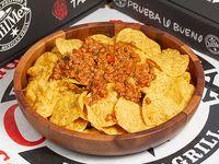 Nachos (marca de calidad) con Chili