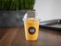 Limonada frozen de durazno en vaso de 400 ml