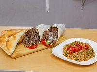 Promo para dos - 2 shawarma + 2 fatay + tabule
