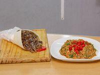 Promo - 1 Shawarma + tabule