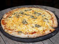 Pizzeta cuatro quesos (32 cm)