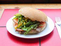 Sándwich clásico chacarero