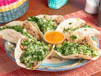 Tacos al pastor mex (5 unidades)