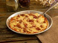 Pizza Mediana Pollo y Tocineta