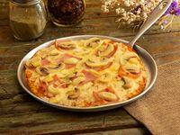 Pizza Mediana Jamón y Champiñones