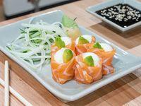Geisha de salmón ahumado (5 piezas)