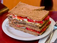 Super sándwich de ternera