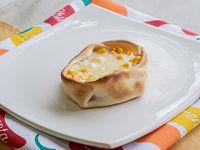 Canastita de choclo y queso