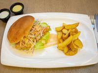 Sándwich de pescado