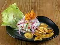 Ceviche de pescado al estilo peruano
