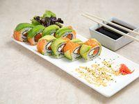 Sake cheese roll (8 piezas)