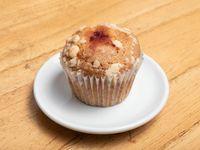 Muffin De Vainilla Con Relleno De Frambuesa
