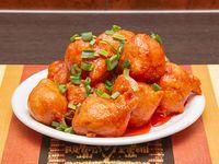 70 - Pollo doradito con salsa agridulce