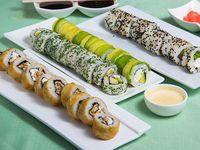 Promo –  Inka Food (40 piezas vegetarianas)