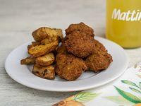 Nuggets de quinoa con papas o ensalada